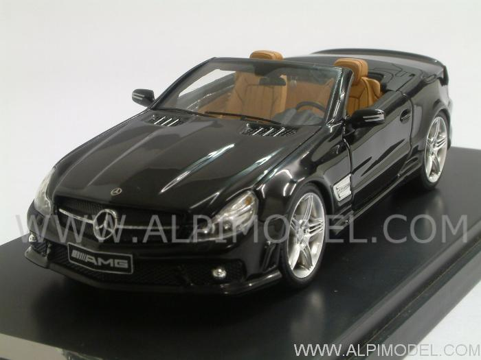 Mercedes SL65 AMG Cabrio (Black) by absolute-hot