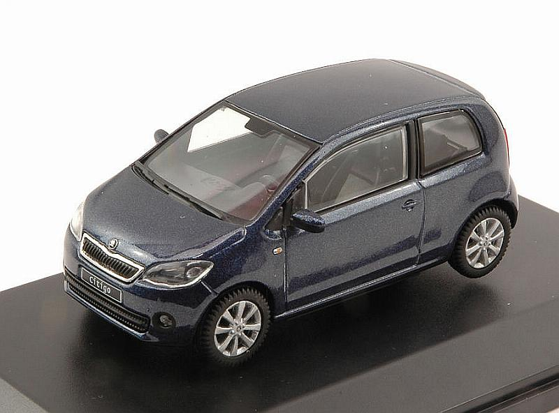 Skoda Citigo 3-Doors 2011 (Night Blue Metallic) by abrex