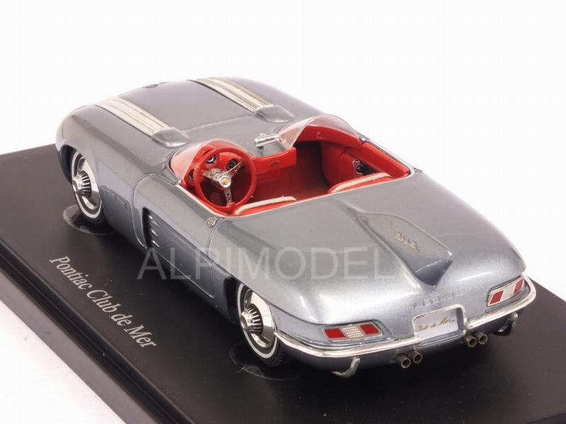 Pontiac Club de Mer 1956 (Metallic Light Blue) - auto-cult