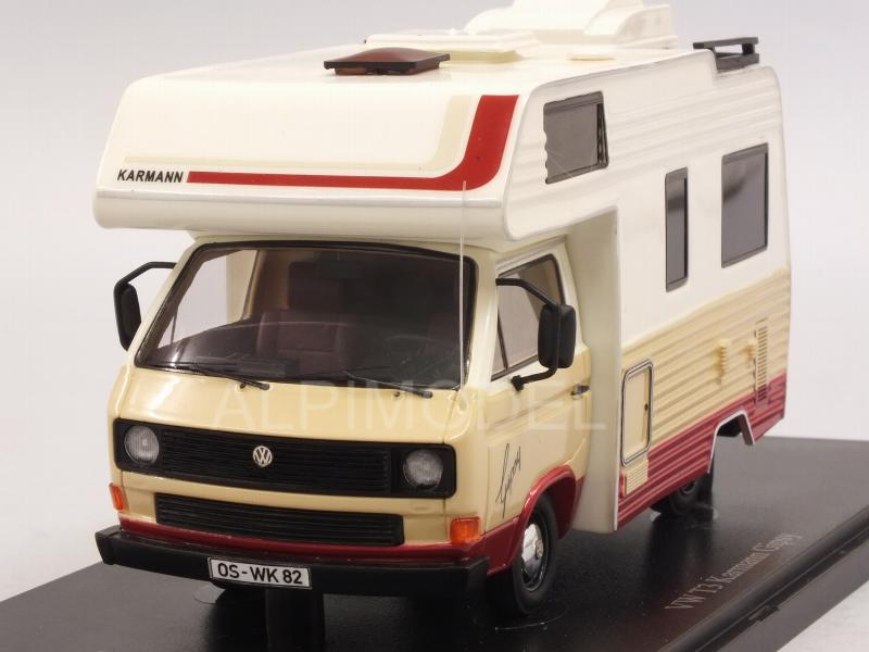 Volkswagen T3 Karmann Gipsy Camping Van 1983 (White) by auto-cult