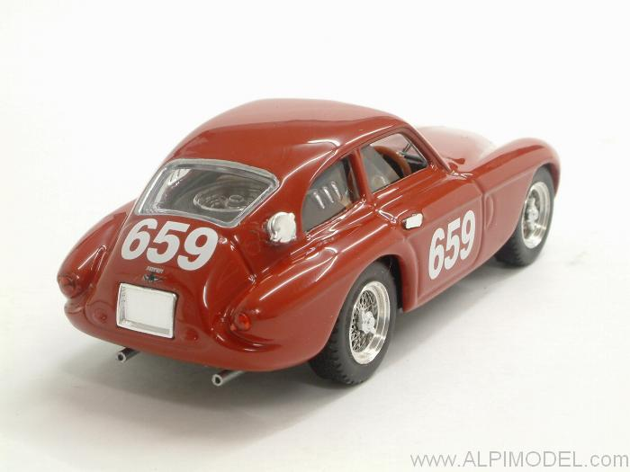 Ferrari 166 MM Coupe #659 Mille Miglia 1950 Cornacchia - Mariani - art-model