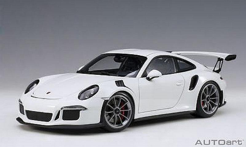 Porsche 911 GT3 RS (991) 2016 (White) by auto-art