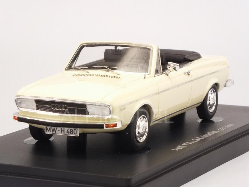 Audi 100 LS Cabriolet 1969 (Ivory) by avenue-43