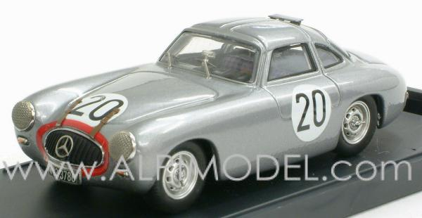 Mercedes 300 SL Coupe Le Mans 1952 #20 Helfrich - Niedermayer by bang