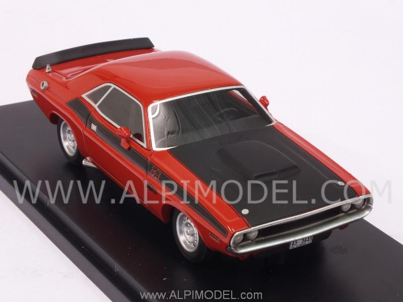 Dodge Challenger T/A 1970 (Red) - best-of-show