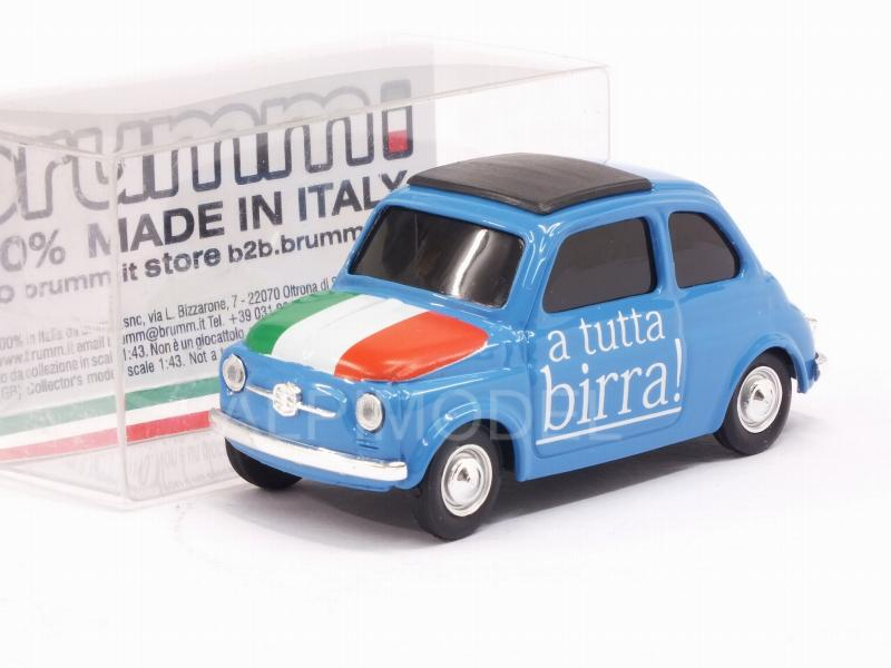 Fiat 500 Brums ITALIA A tutta Birra - Parto in quarta by brumm