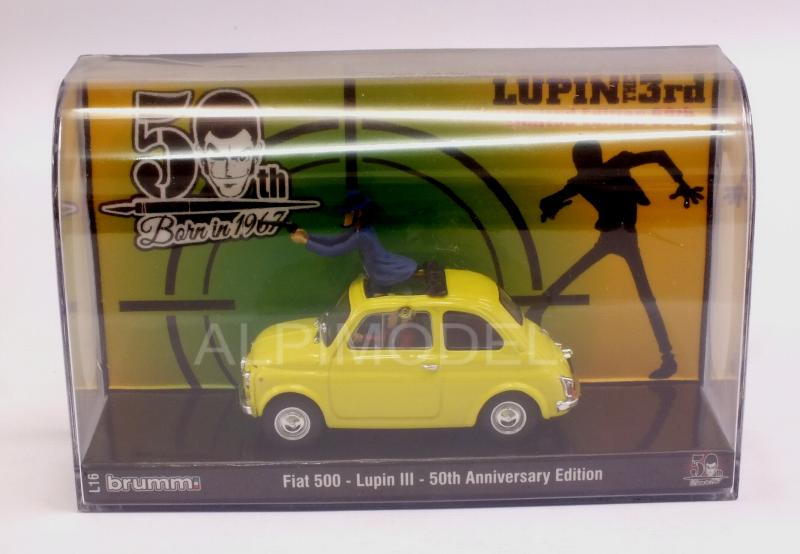 Fiat 500F Lupin III 50th Anniversary Edition by brumm