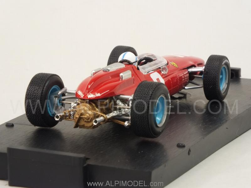 Ferrari 158 F1 #2 Winner GP Italy 1964 World Champion John Surtees (with driver) Update 2016 - brumm