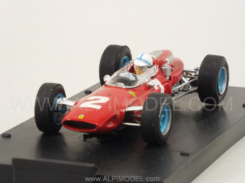 Ferrari 158 F1 #2 Winner GP Italy 1964 World Champion John Surtees (with driver) Update 2016 by brumm
