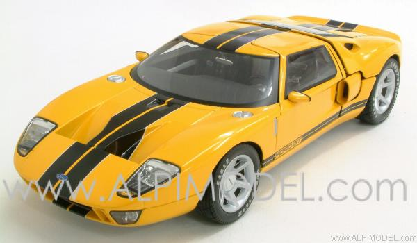 Ford GT 2003 (Yellow) by beanstalk-pma