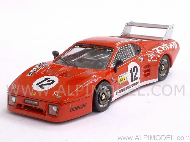 Ferrari 512 BB LM #12 Fuji 1982 Henn - Henn by best-model