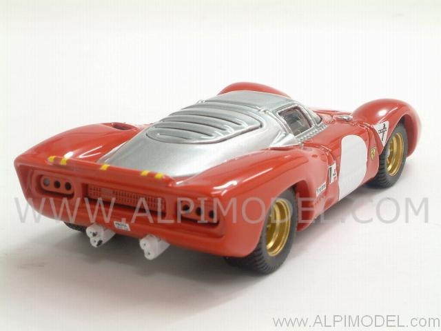 Ferrari 312 P Coupe Test Monza 1969 - best-model