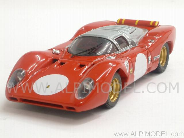 Ferrari 312 P Coupe Test Monza 1969 by best-model
