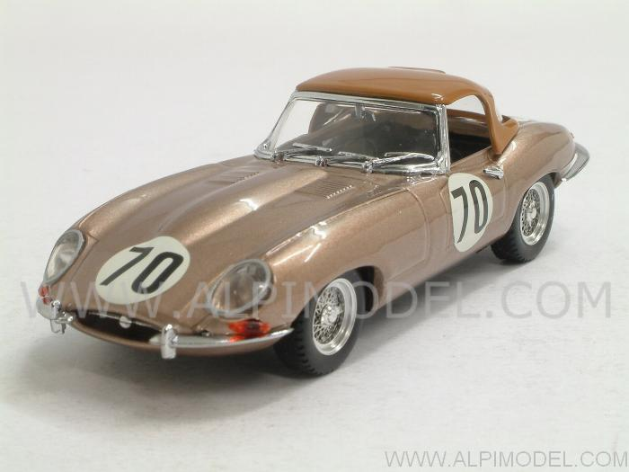 Jaguar #70 Nassau 1961 Fleming by best-model