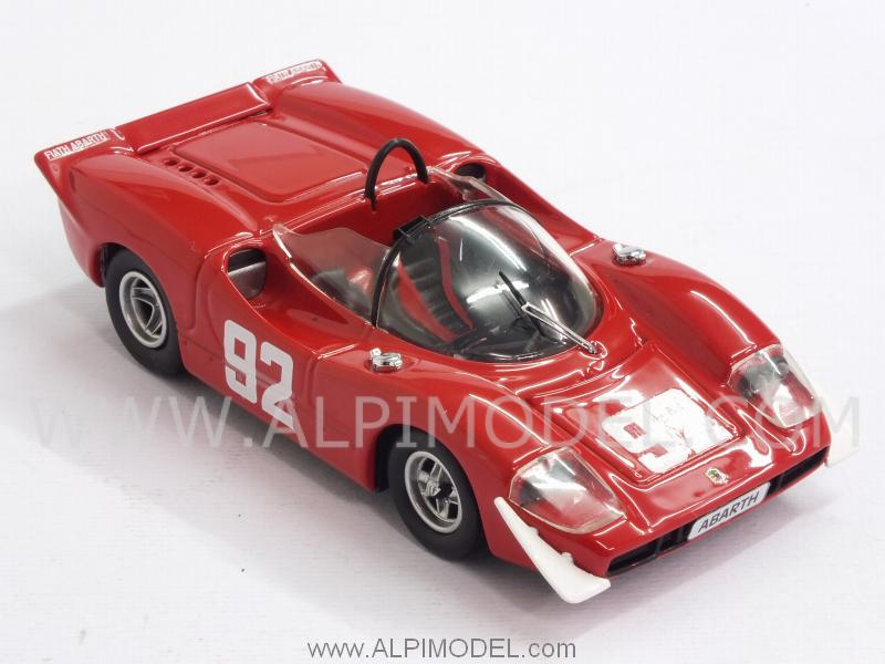 Abarth 2000S #92 Winner Campionato Europeo Montagna 1969 Arturo Merzario - best-model
