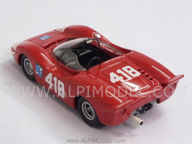 Abarth 2000 S #418 Trieste-Opicina 1969 F.Pilone - best-model