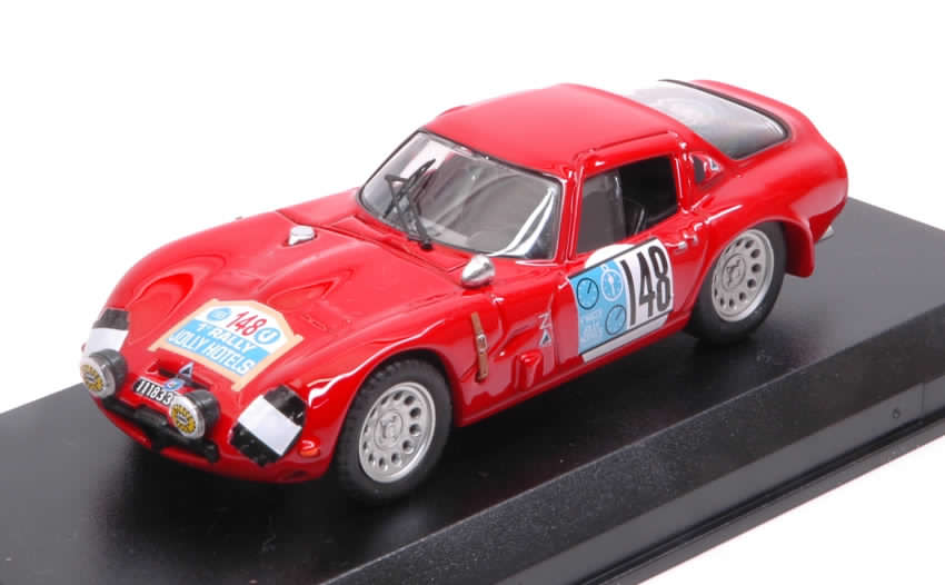 Alfa Romeo TZ2 #148 Rally Jolly Hotel 1965 De Adamich - Lini by best-model