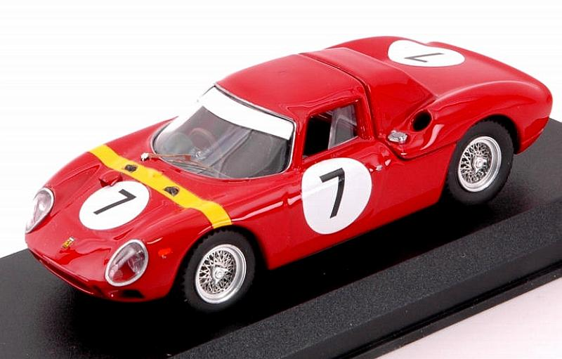 Ferrari 250 LM #7 Winner GP Angola,Luanda 1964 W.Mairesse by best-model