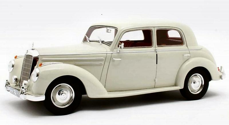Mercedes 220 W187 Limousine 1953 (White) by cult-scale-models