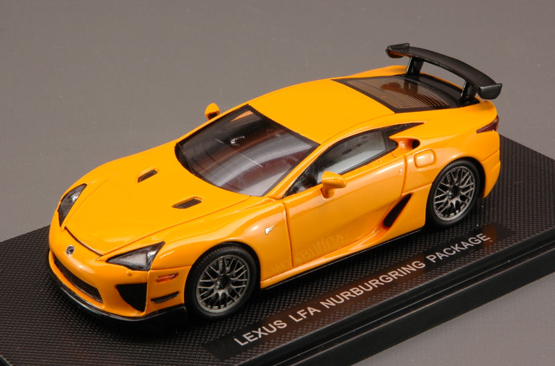 Lexus LFA Nurburgring (Orange) by ebbro