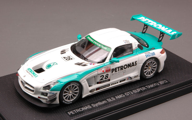Mercedes SLS GT3 #28 Super Taikyu 2012 Moh - Kataoka - Lester - Ritchie by ebbro