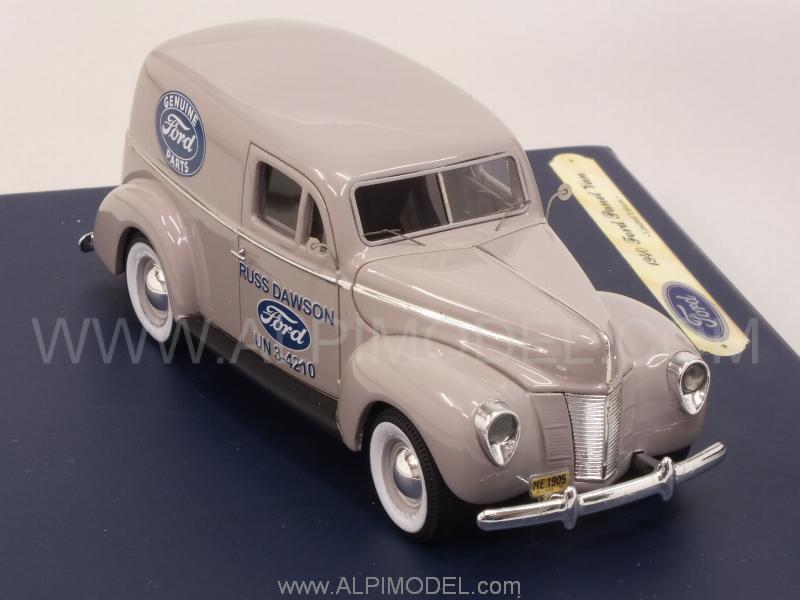 Ford Panel Van 'Genuine Ford Parts' 1935 - genuine-ford-parts