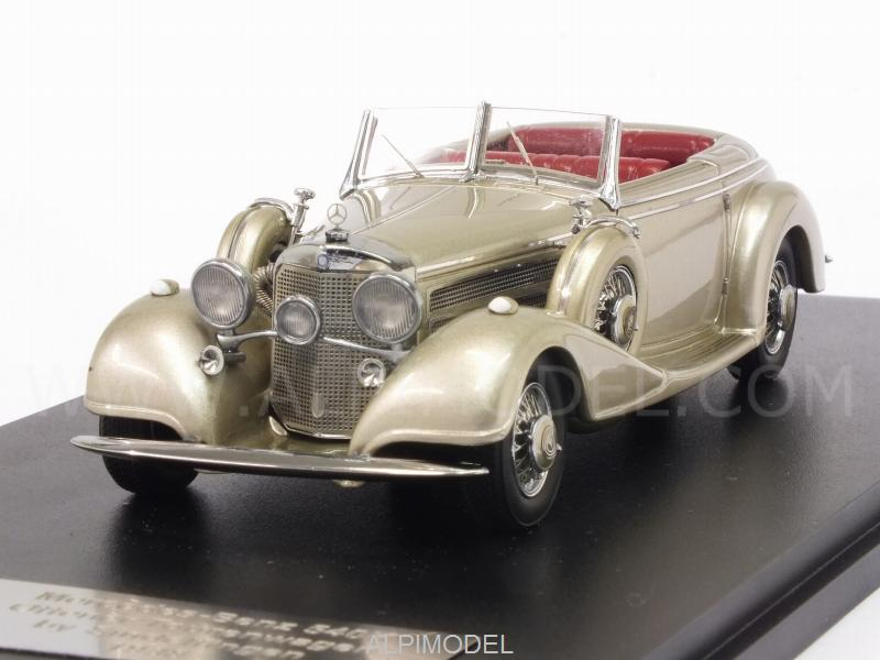 Mercedes 540K Offenertourenwagen by Sindelfingen 1938 (Grey Metallic) by glm-models