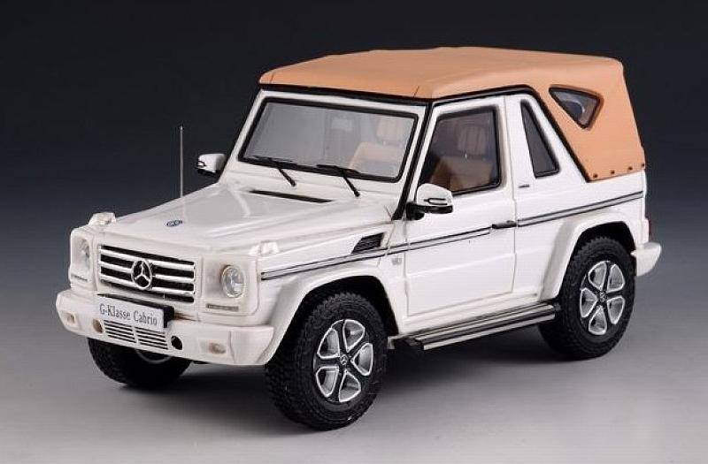 Mercedes G500 Cabriolet Final Edition 2019 (White) closed roof by glm-models