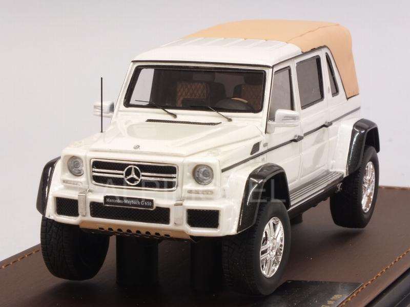 Mercedes Maybach G650 Landaulet closed 2017 (White Metallic) by glm-models