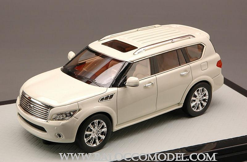 Infiniti QX56 2011 (White) by glm-models