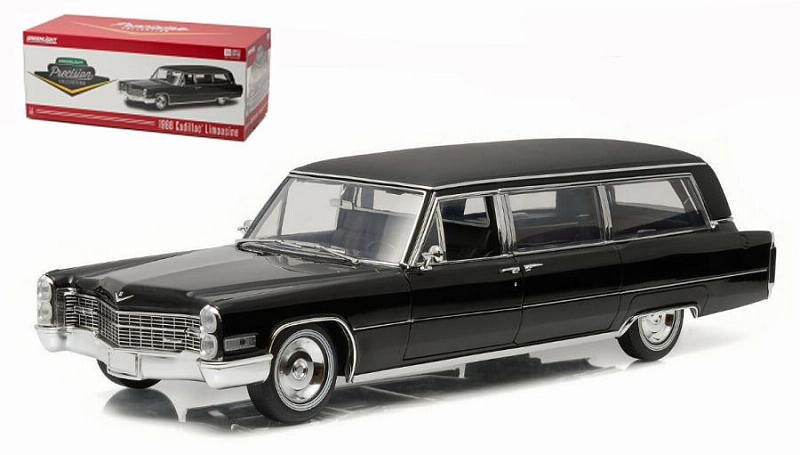 Cadillac S&S Limousine 1966 Funeral Car by greenlight