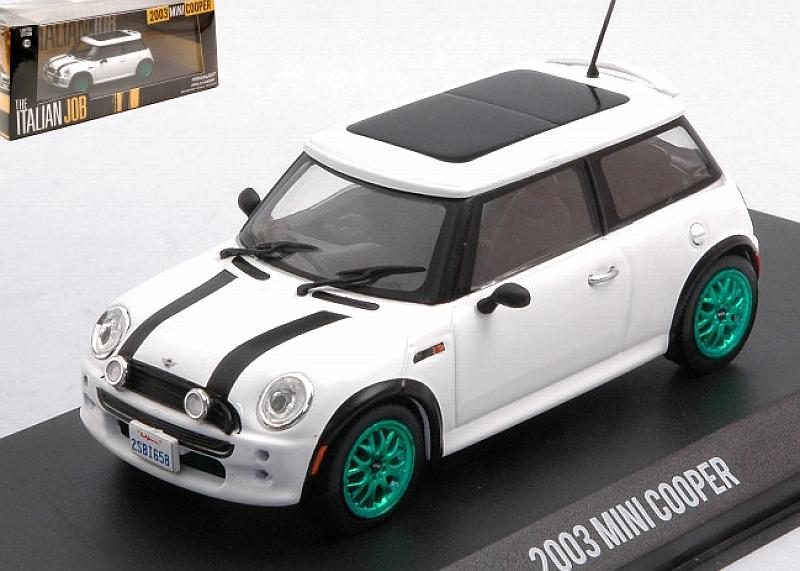 Mini Cooper S The Italian Job Film 2003 (White) by greenlight