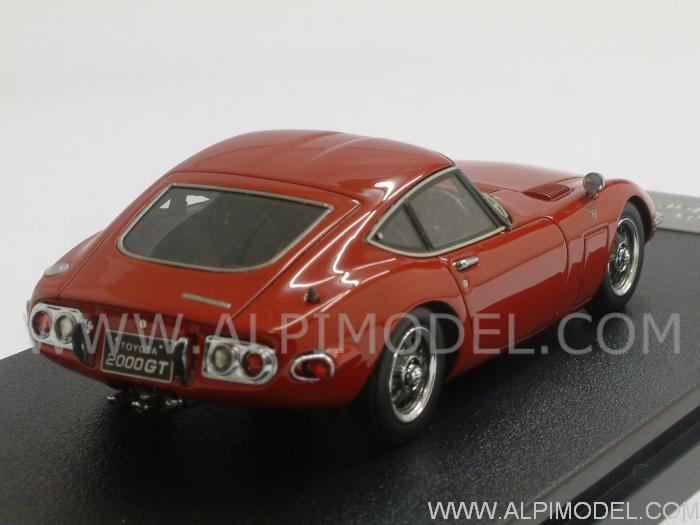 Toyota 2000 GT 1970 (Solar Red) - hpi-racing