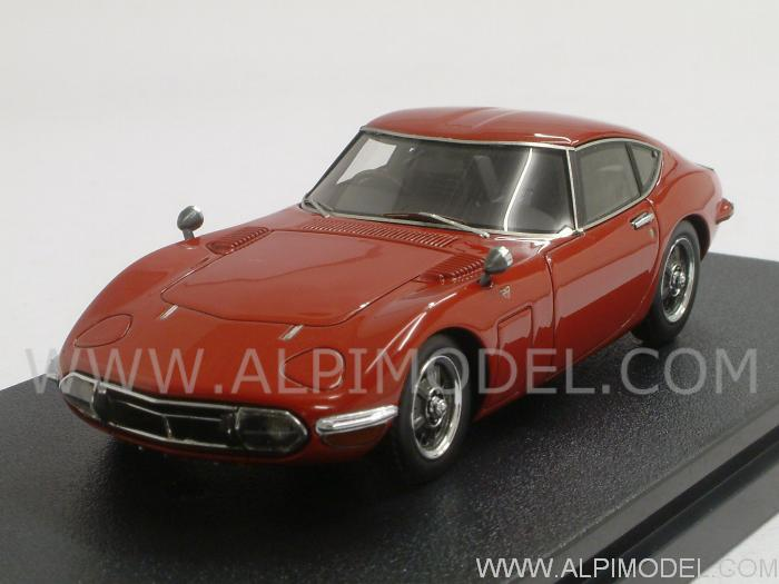 Toyota 2000 GT 1970 (Solar Red) by hpi-racing
