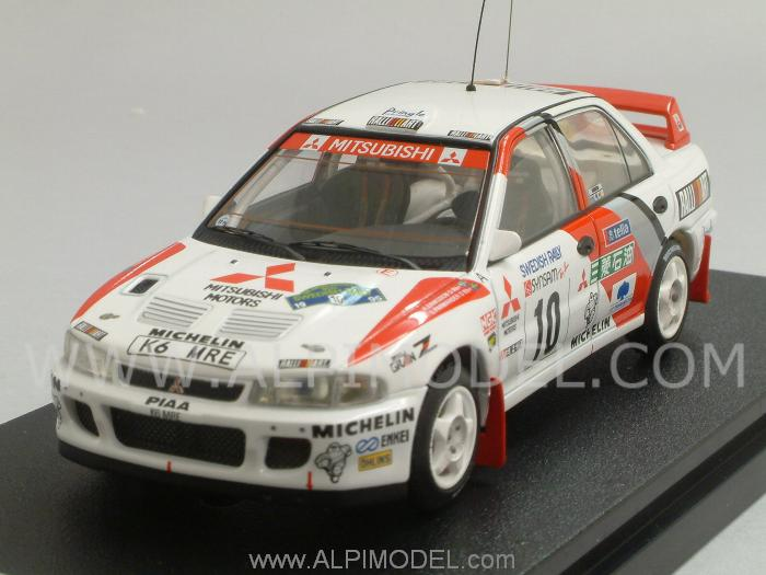 Lancer 1995 Model >> hpi-racing Mitsubishi Lancer Evolution II #10 Rally Sweden 1995 Eriksson - Parmander (1/43 scale ...