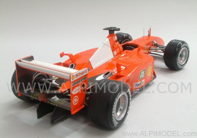 Ferrari F2001 Hungary GP 2001  Michael Schumacher World Champion - hot-wheels
