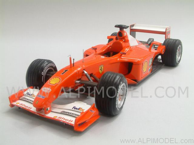 Ferrari F2001 Hungary GP 2001  Michael Schumacher World Champion by hot-wheels