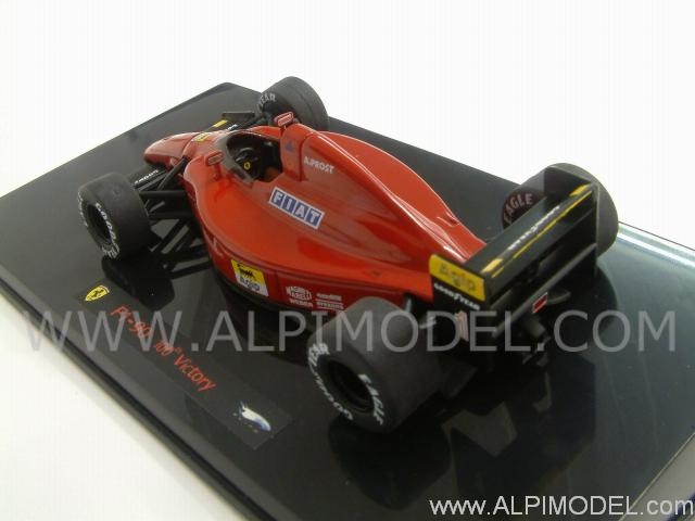 Ferrari F1 90 GP Winner France 1990 Alain Prost - hot-wheels