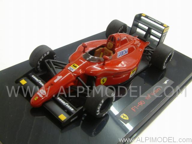 Ferrari F1 90 GP Winner France 1990 Alain Prost by hot-wheels