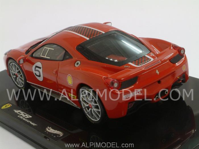 Ferrari 458 Italia Challenge (Red) - hot-wheels