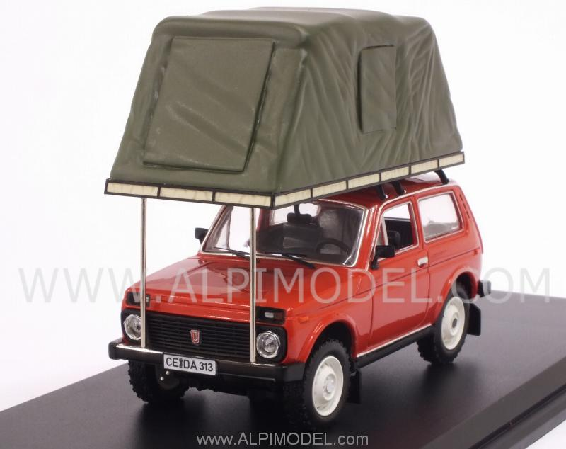 Lada Niva 1981 with tent on roof (Red) by ist-models