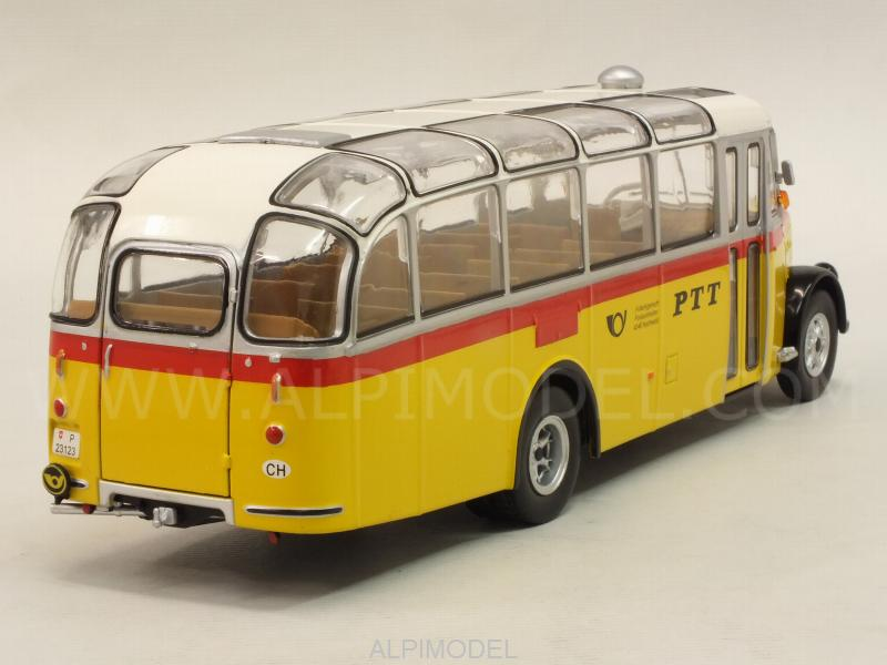 Saurer L4C 1959 Bus PTT Switzerland - ixo-models