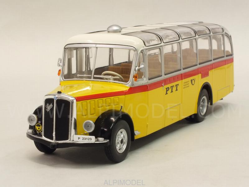 Saurer L4C 1959 Bus PTT Switzerland by ixo-models