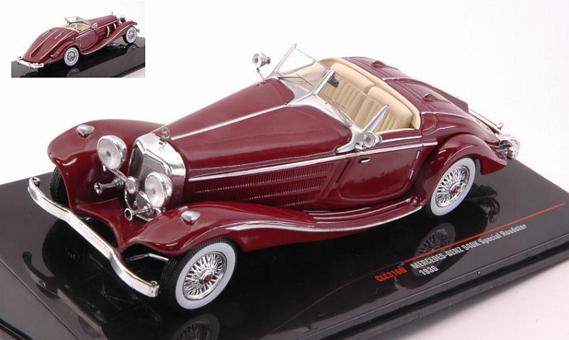 Mercedes 540k Special Roadster 1936 (Red) by ixo-models