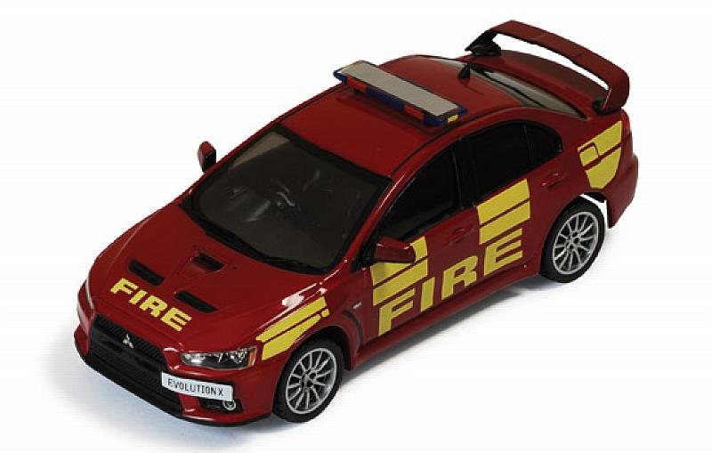 Mitsubishi Lancer EvVO X 2011 West Midlands Fire Department by ixo-models