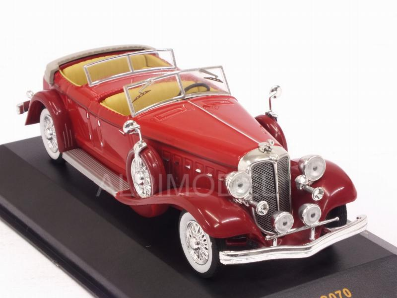 Chrysler Imperial Le Baron Phaeton 1933 (Red) - ixo-models