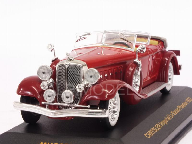 Chrysler Imperial Le Baron Phaeton 1933 (Red) by ixo-models