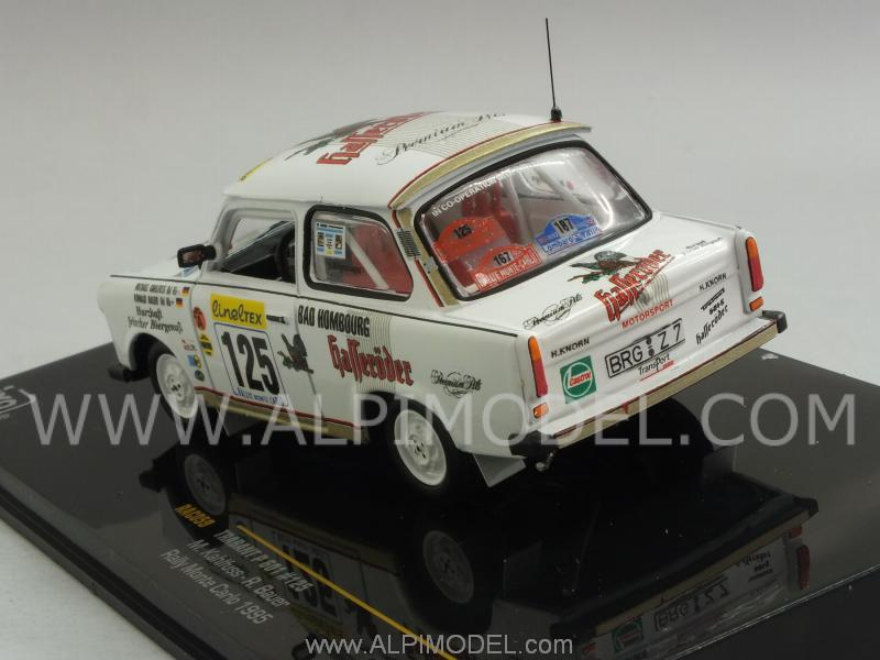 Trabant P601 #125 Rally Monte.Carlo 1995 Kahlfuss - Bauer - ixo-models