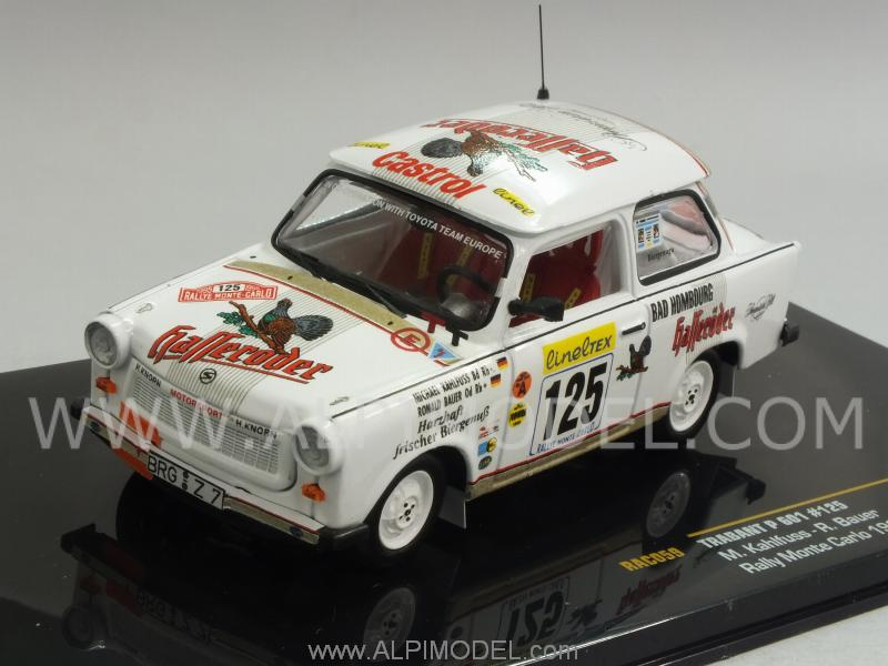 Trabant P601 #125 Rally Monte.Carlo 1995 Kahlfuss - Bauer by ixo-models