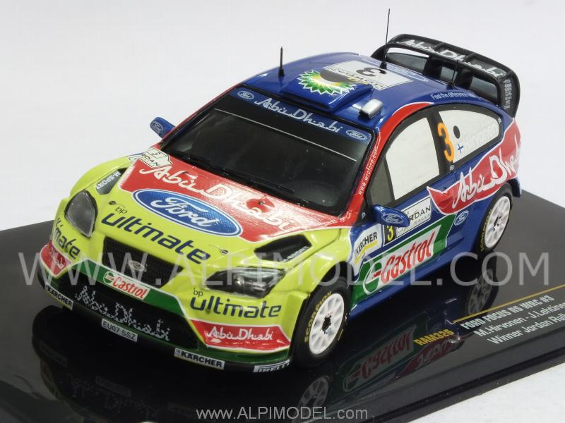 Ford Focus RS WRC #3 Winner Jordan Rally 2008 Hirvonen- Lehtinen by ixo-models